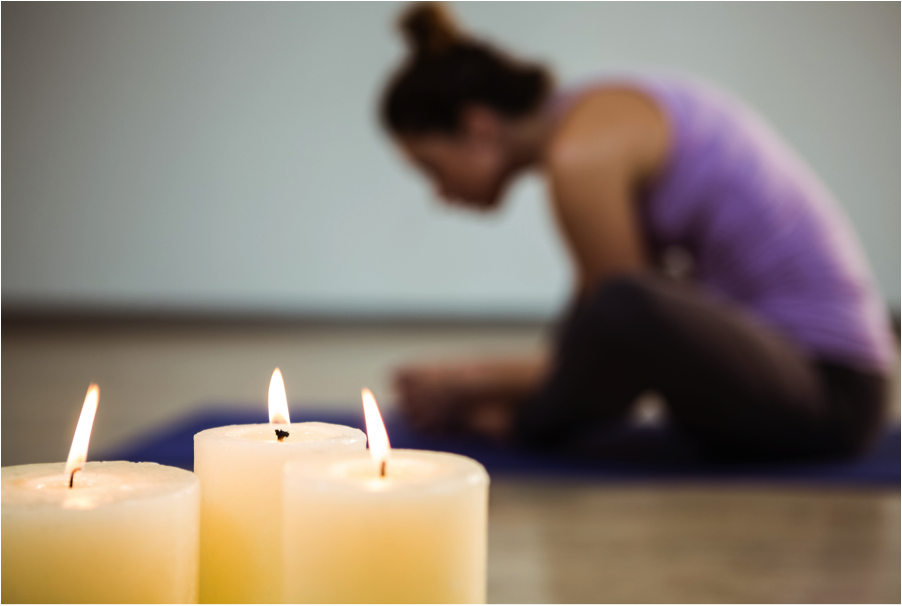 candlelight yoga  rest  renew and restore